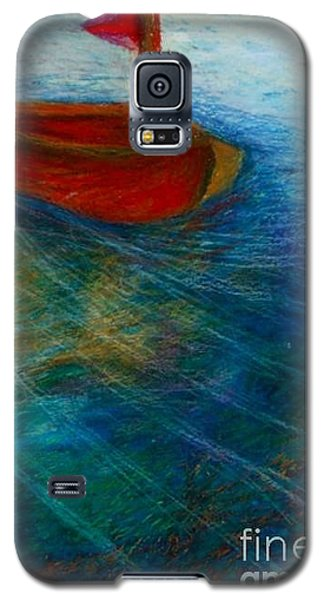 Feeling The Wind Blow Galaxy S5 Case