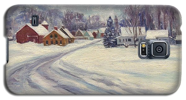 Felchville Village In The Snow Galaxy S5 Case