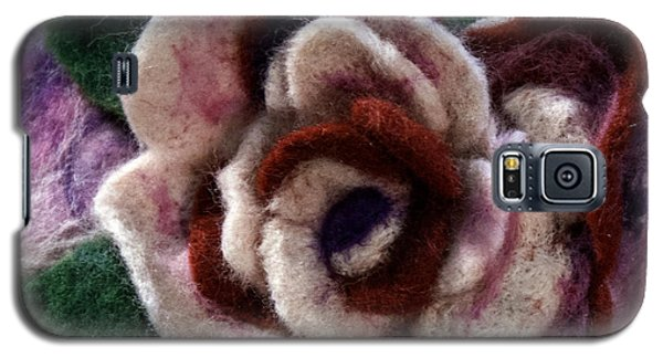 Felted Rose Galaxy S5 Case