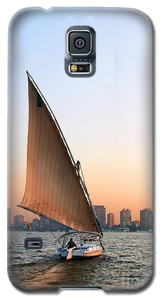 Felucca On The Nile Galaxy S5 Case