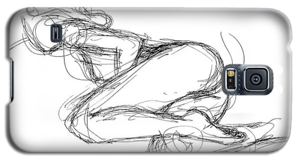 Female-erotic-sketches-8 Galaxy S5 Case