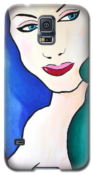 Female Face Shapes And Forms Galaxy S5 Case
