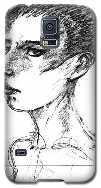Female Head Galaxy S5 Case