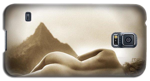 Female Nude At Mt. Pali Hawaii Galaxy S5 Case