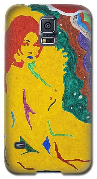 Nude Goddess Galaxy S5 Case by Stormm Bradshaw
