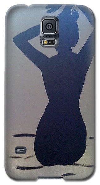 Female Silhouette Galaxy S5 Case