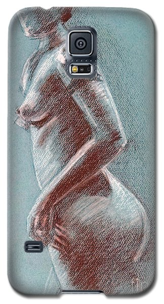Female Standing Side Galaxy S5 Case