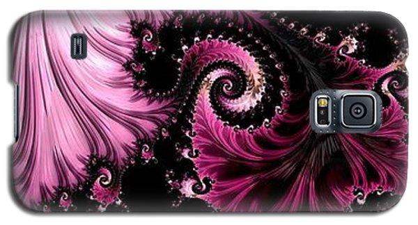 Femme Fatale Fractal Galaxy S5 Case by Susan Maxwell Schmidt