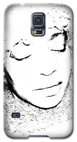 Femme In Headdress Galaxy S5 Case
