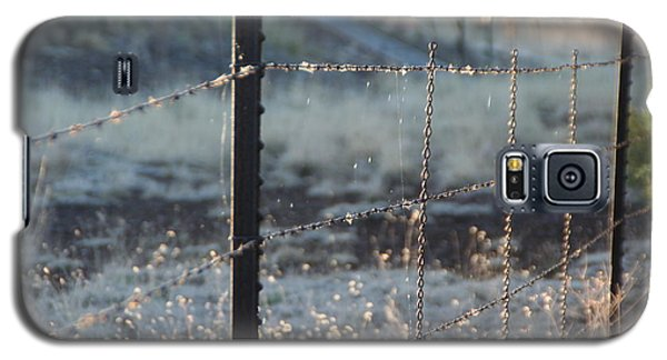 Galaxy S5 Case featuring the photograph Fence by David S Reynolds