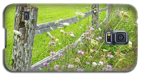 Fence Post Galaxy S5 Case by Melinda Fawver