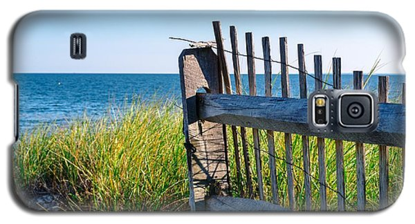 Galaxy S5 Case featuring the photograph Fence With A Great View by Mike Ste Marie