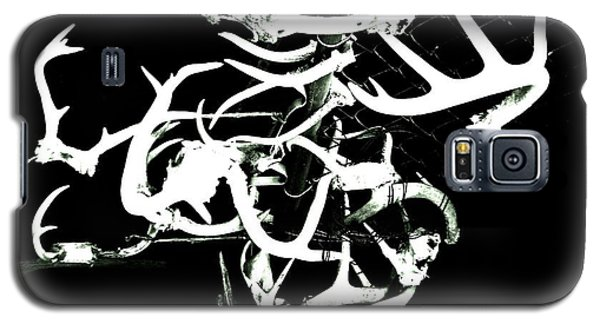 Galaxy S5 Case featuring the photograph Fenced Antler by Amy Sorrell