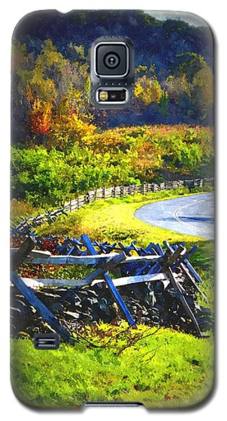 Galaxy S5 Case featuring the photograph Fenced In by Cathy Shiflett