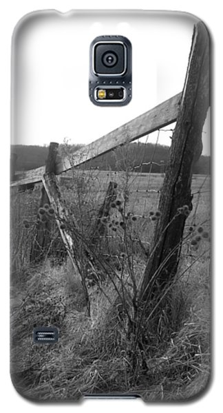 Fences Black And White I Galaxy S5 Case