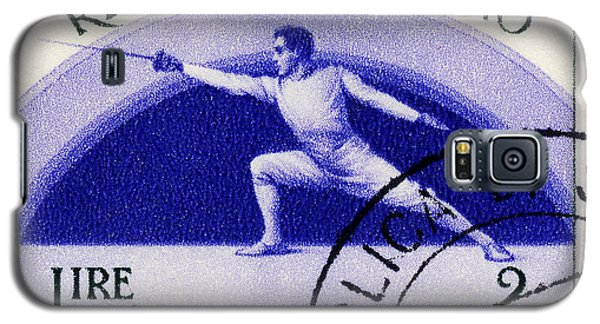 Fencing On San Marino Stamp Galaxy S5 Case