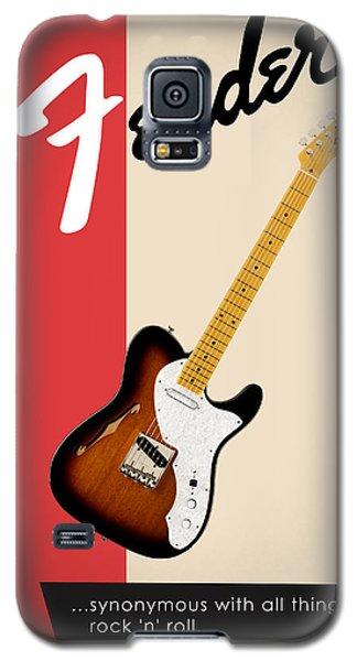 Guitar Galaxy S5 Case - Fender All Things Rock N Roll by Mark Rogan