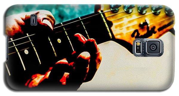 Eric Clapton Galaxy S5 Case - Fender Strat by Bob Orsillo
