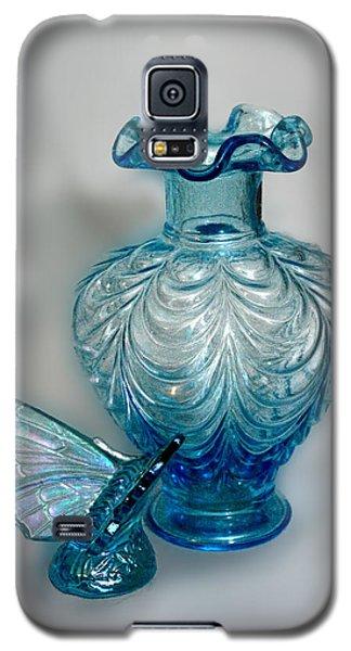 Fenton Blue Galaxy S5 Case by Linda Phelps
