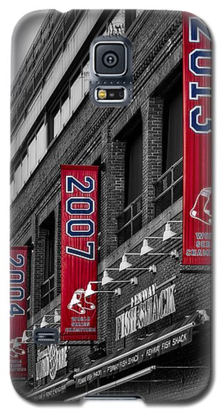 Fenway Boston Red Sox Champions Banners Galaxy S5 Case