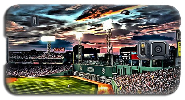 Fenway Park At Sunset Galaxy S5 Case