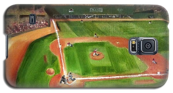 Fenway Park Galaxy S5 Case by Lindsay Frost