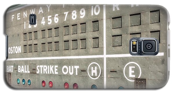 Fenway Park Scoreboard Galaxy S5 Case by Susan Candelario