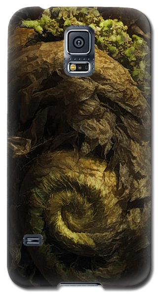 Fern Headdress Galaxy S5 Case by Jean OKeeffe Macro Abundance Art