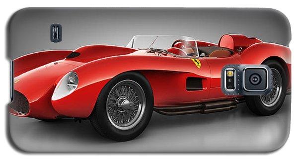 Galaxy S5 Case featuring the digital art Ferrari 250 Testa Rossa - Spirit by Marc Orphanos