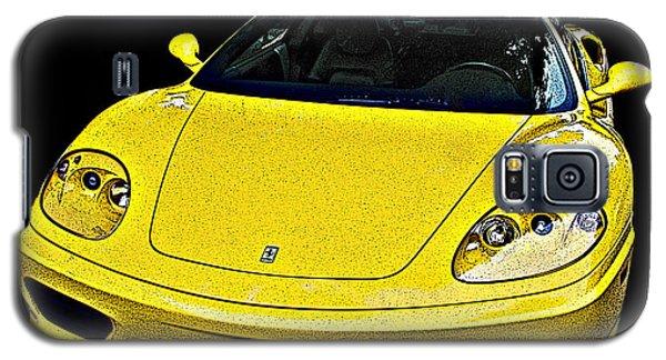 Ferrari 360 Modena In Yellow Galaxy S5 Case