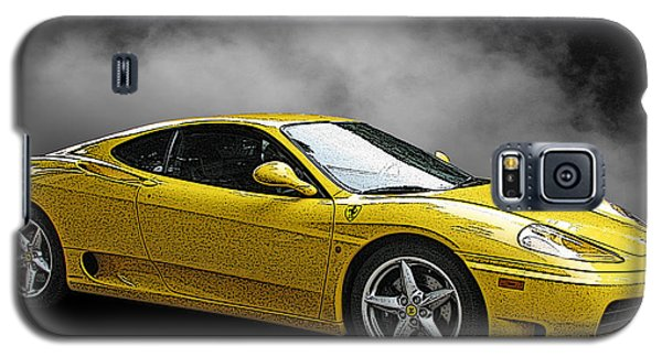 Ferrari 360 Modena Side View Galaxy S5 Case by Samuel Sheats