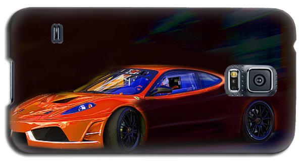 Galaxy S5 Case featuring the photograph Ferrari Shadow by Gunter Nezhoda