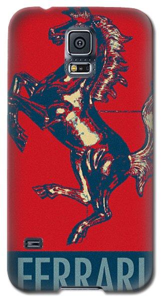 Ferrari Stallion In Hope Galaxy S5 Case by Rob Hans
