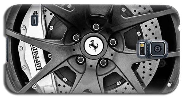 Ferrari Wheel Emblem - Brake Emblem -0430bw Galaxy S5 Case