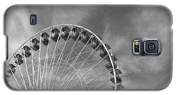 Ferris Wheel Black And White Galaxy S5 Case