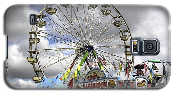 Ferris Wheel  Galaxy S5 Case by Bob Noble Photography