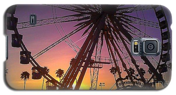 Ferris Wheel Galaxy S5 Case by Chris Tarpening