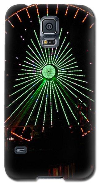 Ferris Wheel Christmas Tree Galaxy S5 Case