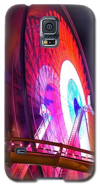 Ferris Wheel Galaxy S5 Case by Gandz Photography