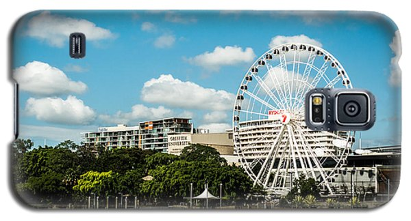 Ferris Wheel On The Brisbane River Galaxy S5 Case