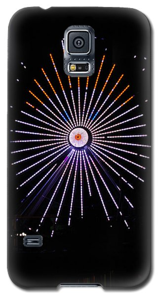 Ferris Wheel Santa Galaxy S5 Case