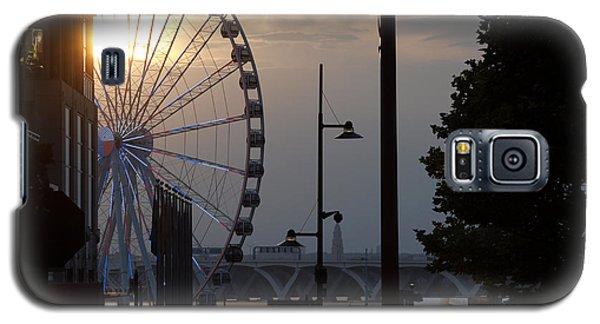 Ferris Wheel Sunset 1 Galaxy S5 Case