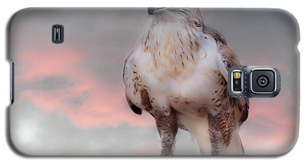 Ferruginous Hawk At Dusk Galaxy S5 Case