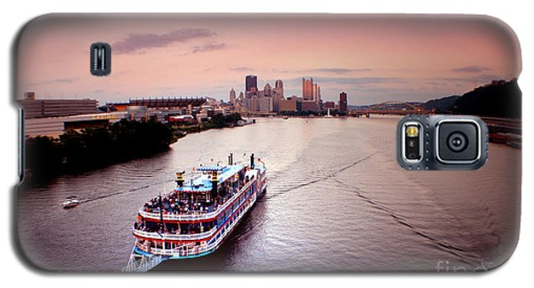 Ferry Boat At The Point In Pittsburgh Pa Galaxy S5 Case