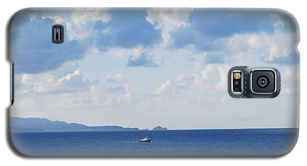 Ferry On Time Galaxy S5 Case by George Katechis