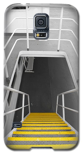 Galaxy S5 Case featuring the photograph Ferry Stairwell by Marilyn Wilson