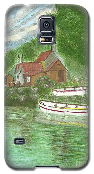 Ferryman's Cottage Galaxy S5 Case by Tracey Williams