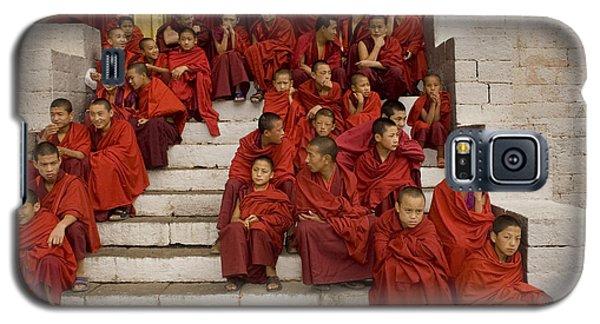 Galaxy S5 Case featuring the digital art Festival In Bhutan by Angelika Drake