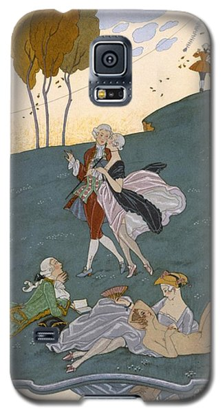 Fetes Galantes Galaxy S5 Case by Georges Barbier