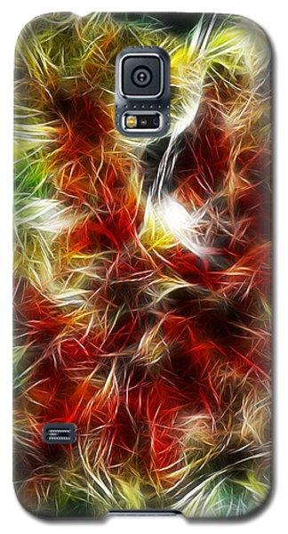 Galaxy S5 Case featuring the digital art Feux Follets by Selke Boris